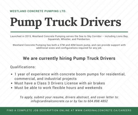 westland job posting